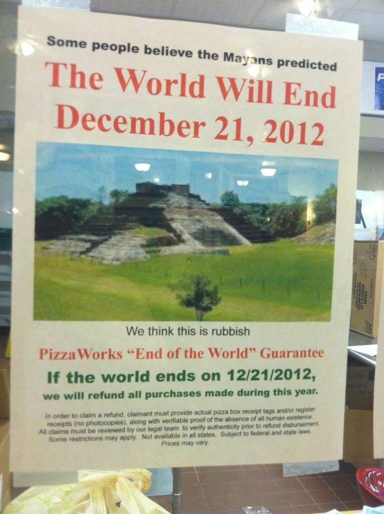 Je-geld-terug-actie. 21-12-2012