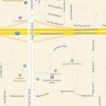 Apple Maps laat je van een viaduct afrijden