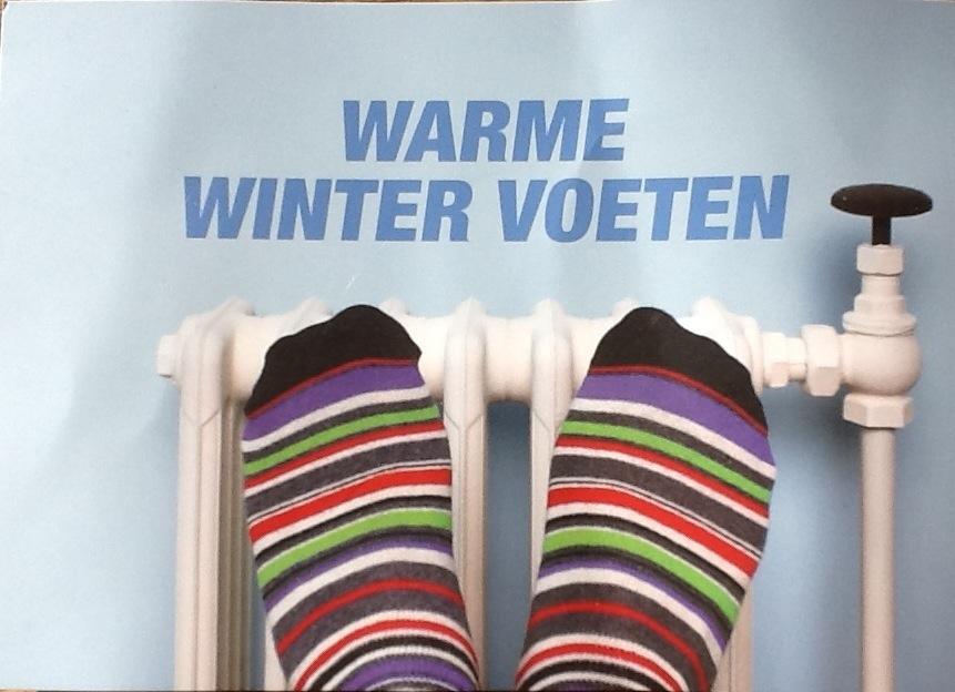 Warme Winter Voeten
