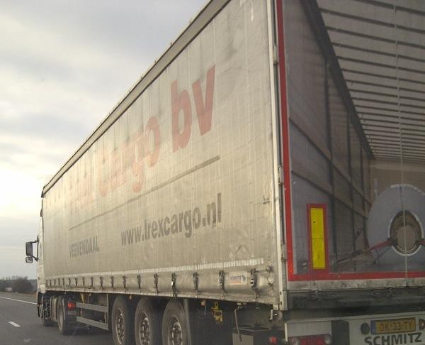 vrachtwagen origineel bestickerd