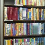 Boeken en humor in de bibliotheek