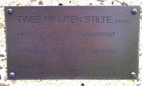 Twee minuten stilte, Hetty Noorman-Hogenhout