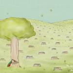 Stop met bomen kappen – lees e-boeken