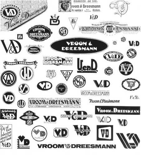 V&D overzicht logo's