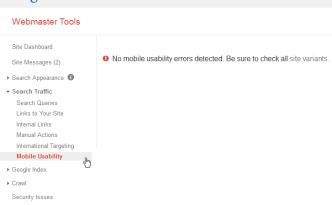Google Webmaster Tools Mobile Usability mobiel gebruiksvriendelijk marijnkrijger