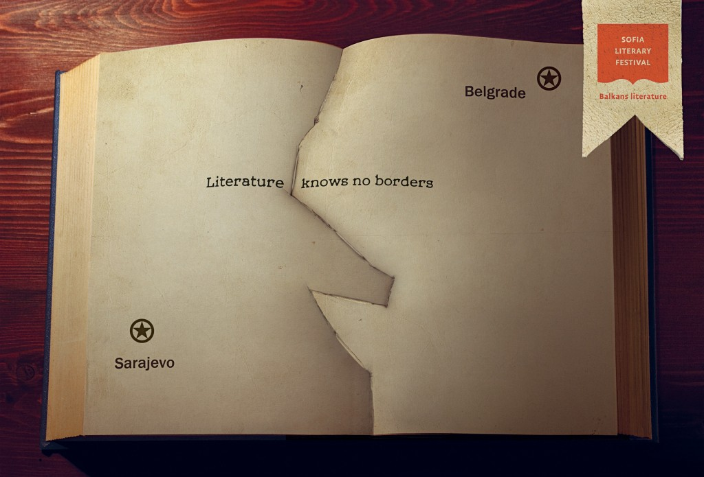 Literature knows no borders. Belgrade Sarajevo