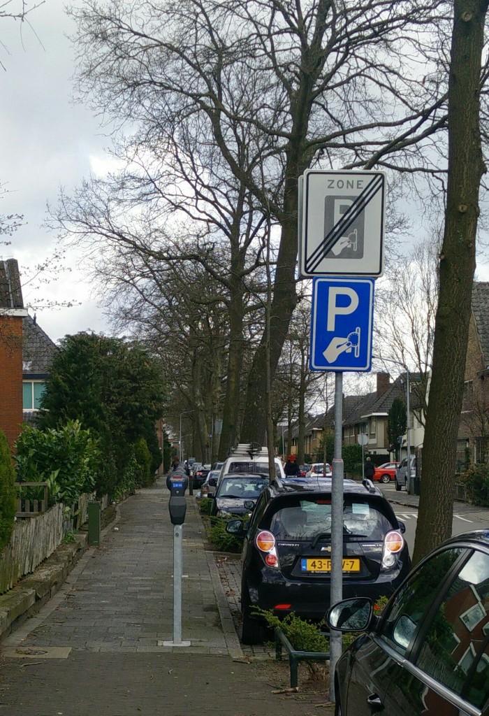 verkeersbordenlogica betaald parkeren