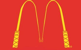 Mc Donald's world cup fifa fake logo