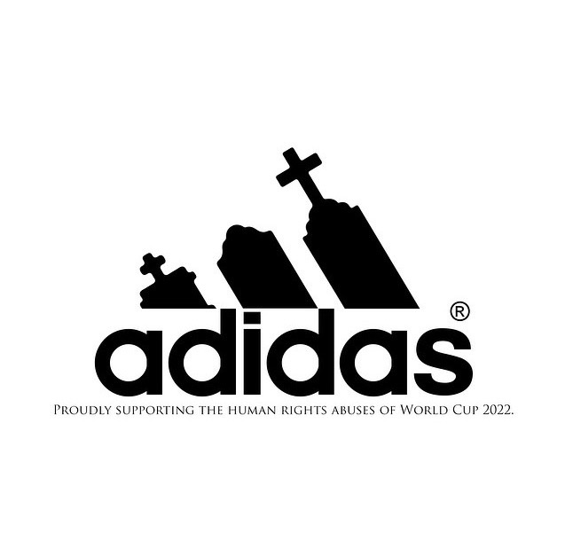adidas world cup fifa fake logo 2