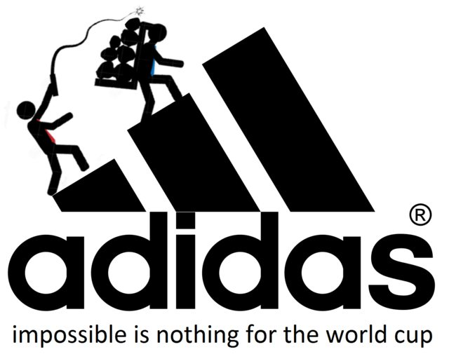 adidas worldcup fifa fake logo