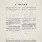 Begin een boek