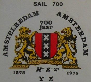 SAIL Amsterdam logo 1975