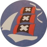 De logo's van SAIL Amsterdam (1975-2015)