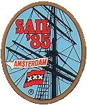 SAIL Amsterdam logo 1985