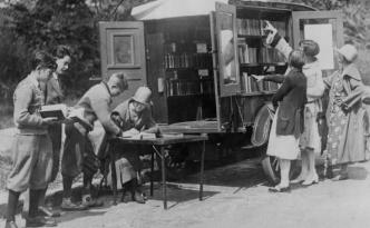 bibliotheek-auto