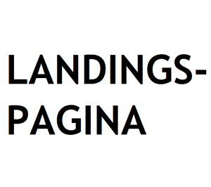 landingspagina