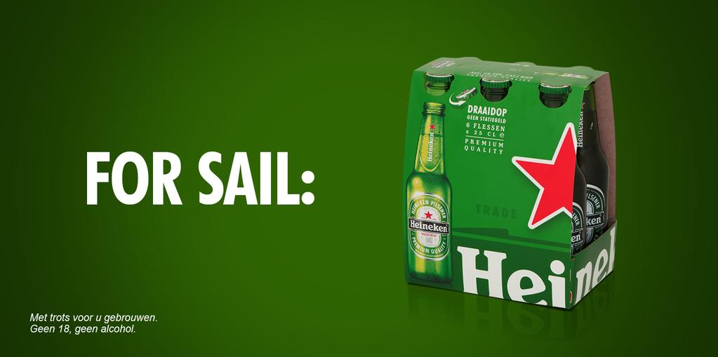 inhaker Heineken SAIL