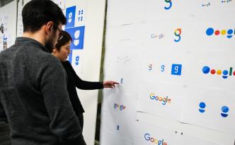 Ontwerpen van het Google-logo 2015
