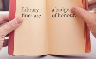 national reading campaign library fines are a badge of honour