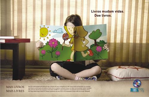 Mais Livros Mais Livres boeken redden levens