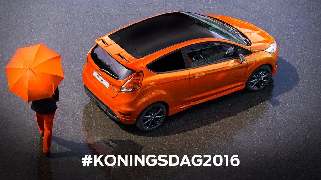 inhaker Koningsdag 2016 Ford Fiesta