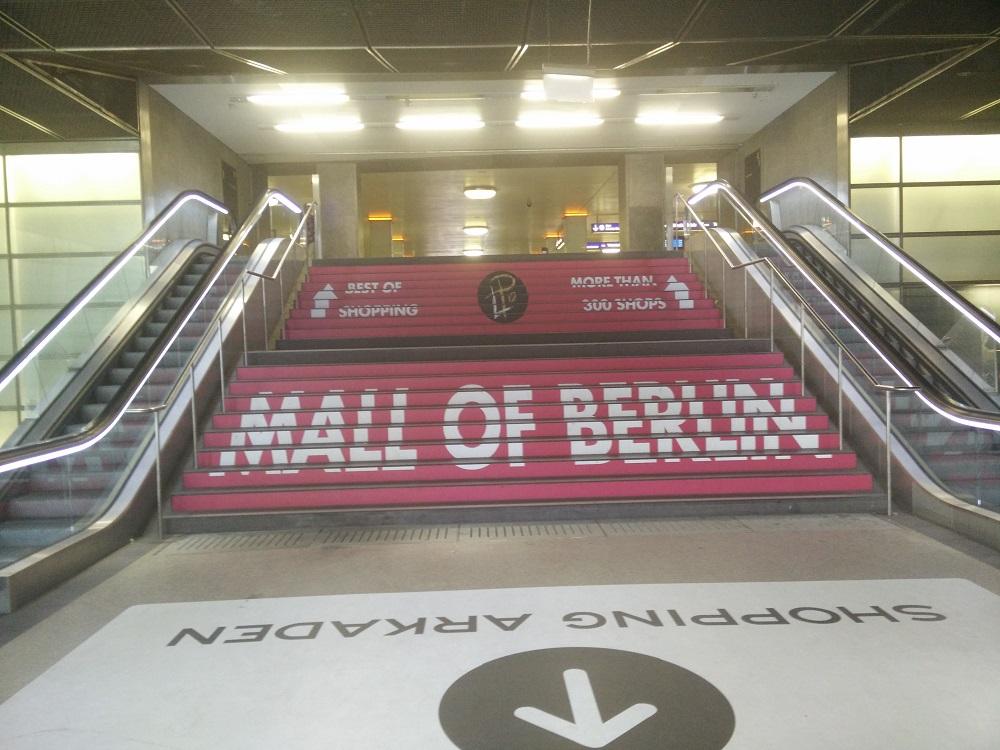 trapreclame Mall of Berlin