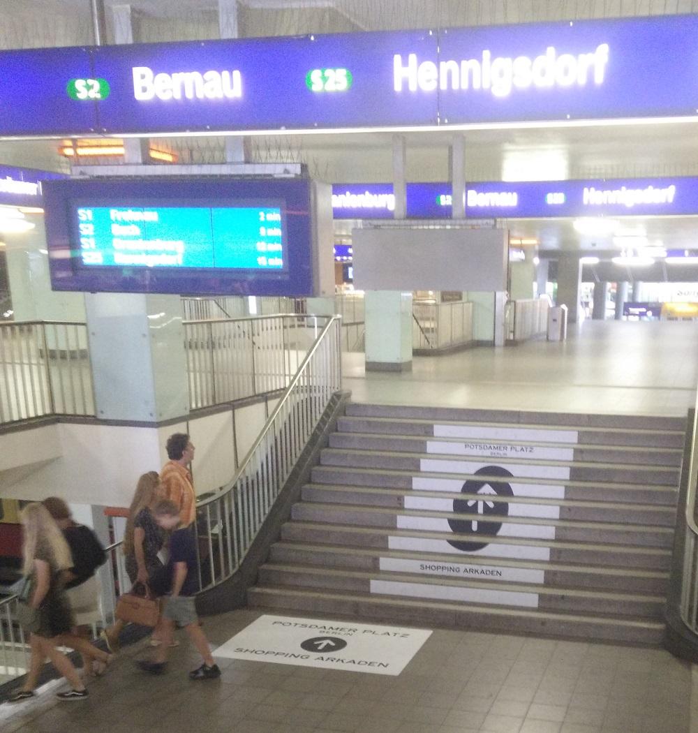 trapreclame Potsdamer Platz
