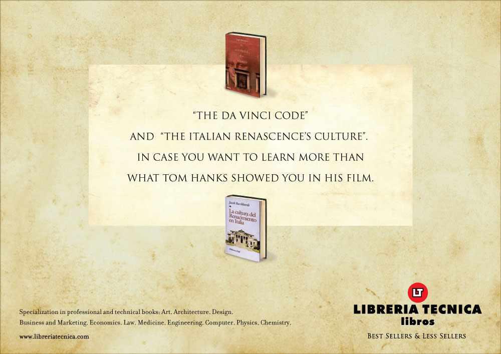 Libreria Tecnica da vinci code and the italian renascence s culture