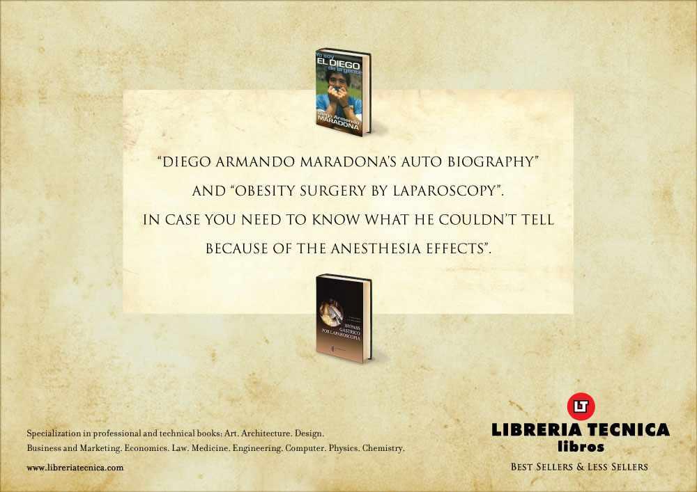 Libreria Tecnica maradona autobiography and obesity surgery