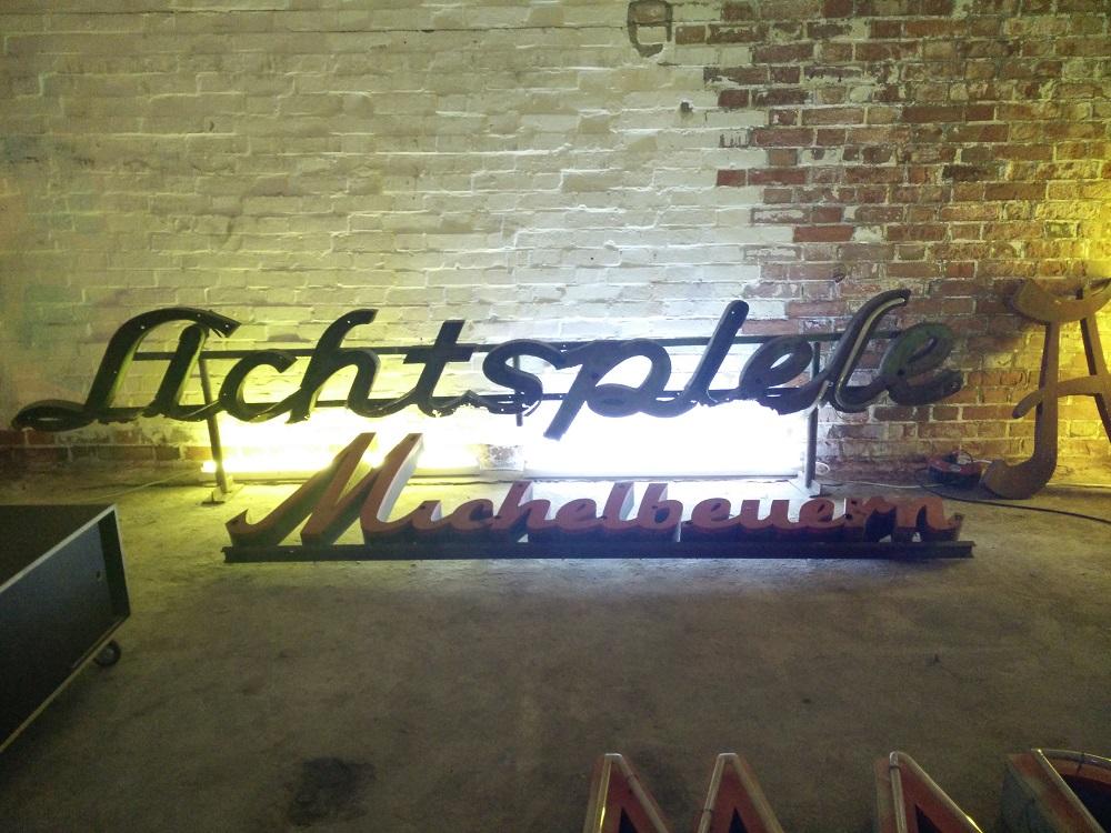 Lichtspiele Buchstabenmuseum Berlin