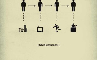 quercus books, life in five seconds Silvio Berlusconi