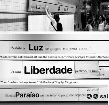 Livraria de Vila stationsnamen Sao Paulo