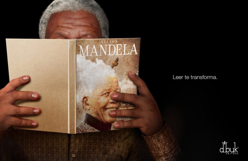 D'buk editors Nelson Mandela Reading transforms you