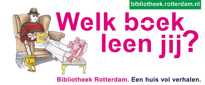 bibliotheek rotterdam welk boek leen jij horizontaal