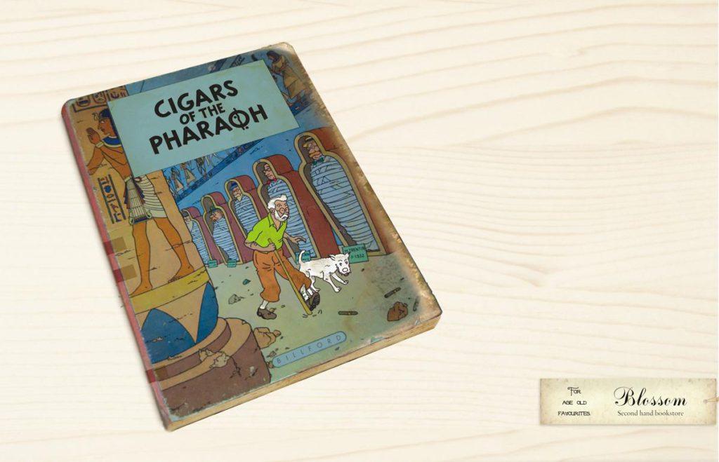 Blossom Kuifje Tintin