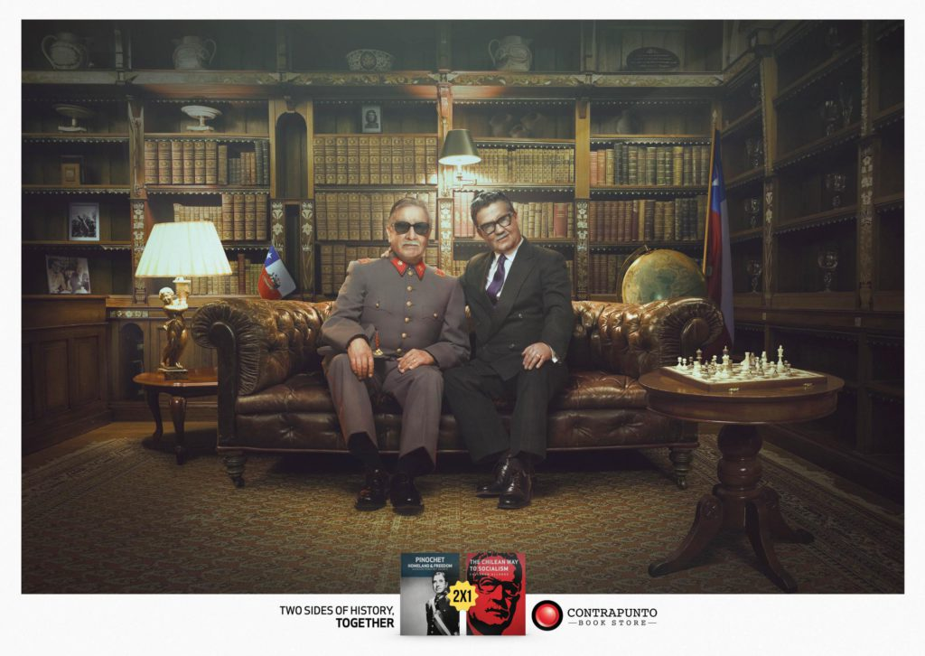 Two sides of history contrapunto_pinochet_allende