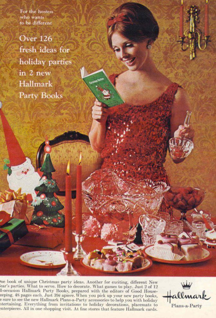 Hallmark partybook