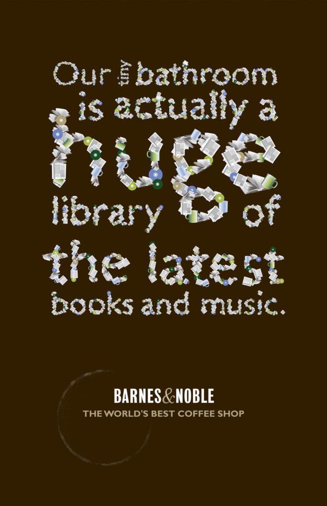 Barnes & Noble library bibliotheek