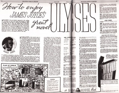 1934 first ad james joyce the great ulysses