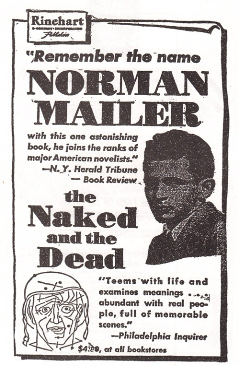 1948 norman mailer the naked and the dead