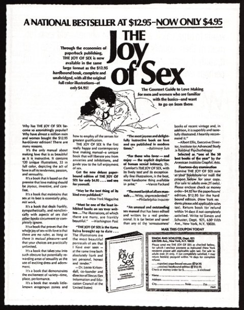 1974 the joy of sex