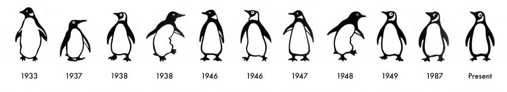 penguin evolutie logo