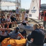 Dag 5 van de Volvo Ocean Race in Den Haag