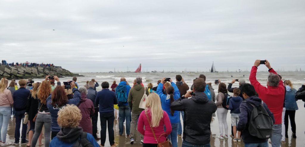 Finish Volvo Ocean Race Den Haag Scheveningen 2018 Dongfeng wint
