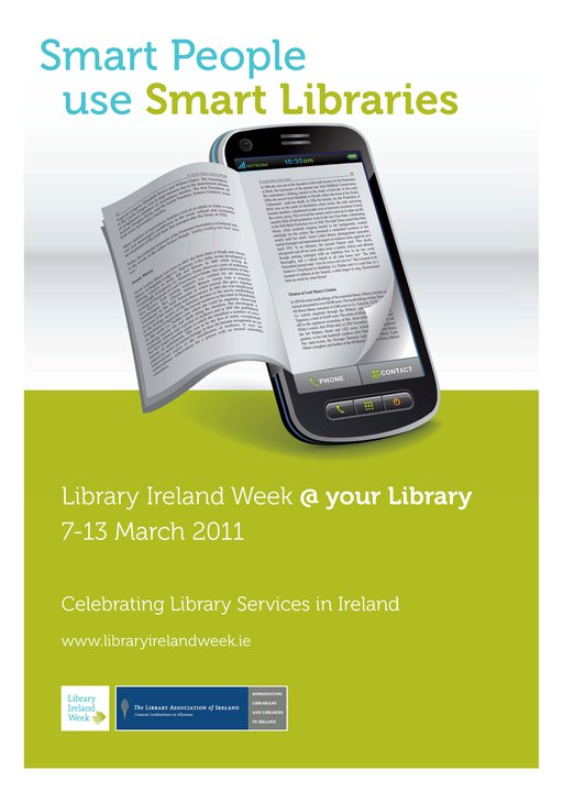 It's all about how people are using libraries and how libraries are using technology and social media to communicate and to increase access to books and other services. There are hundreds of events taking place in all kinds of libraries all over the country during Library Ireland Week.