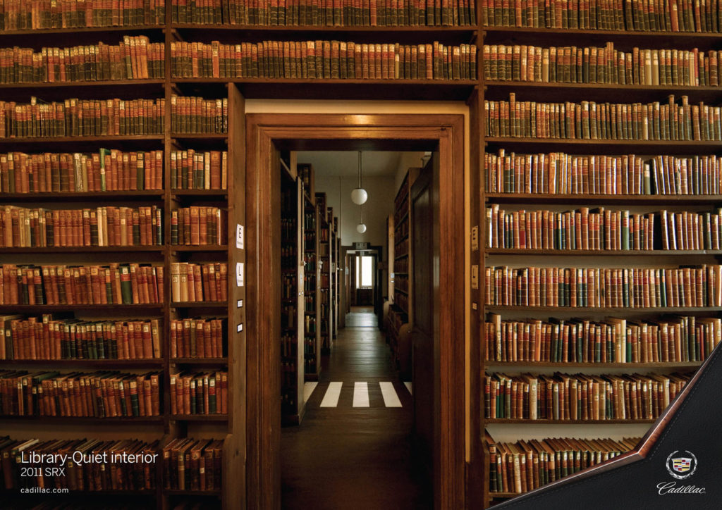 library cadillac