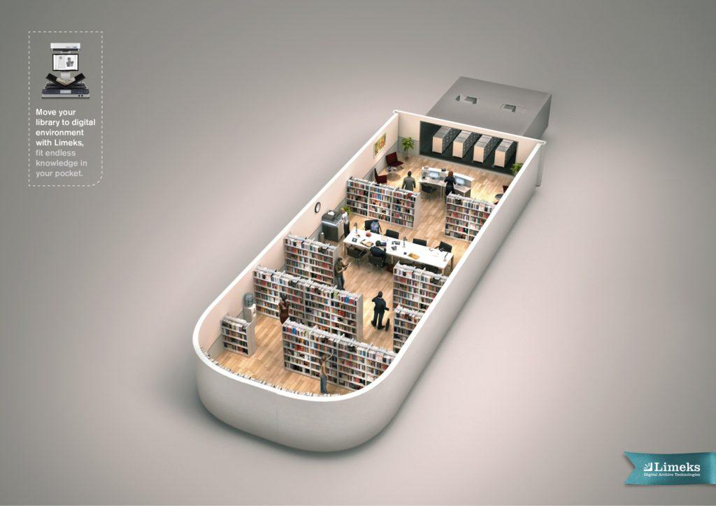 library to USB limeks