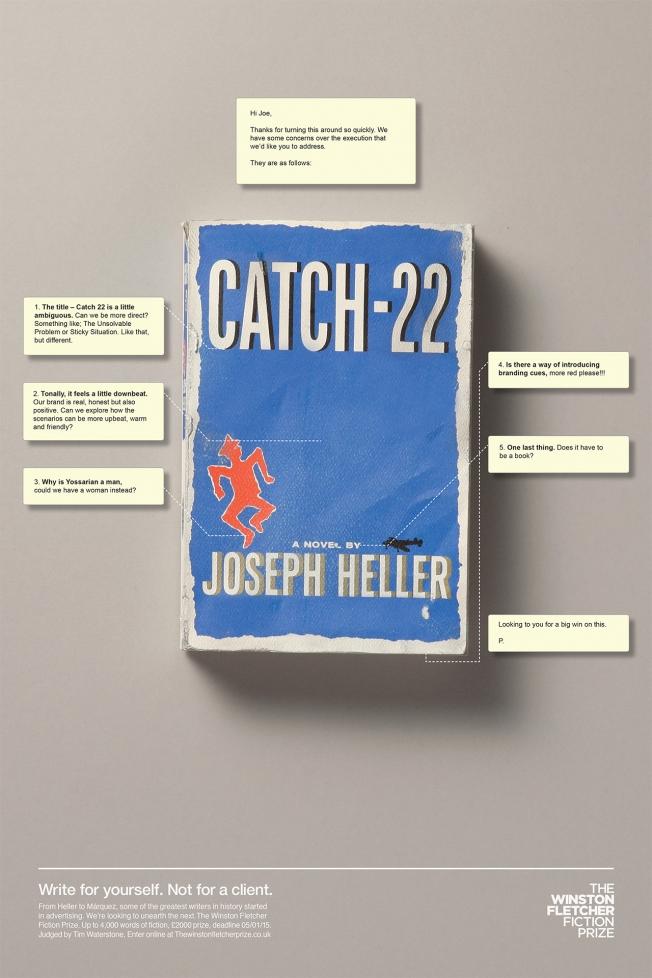 winston-fletcher-fiction-prize-catch 22