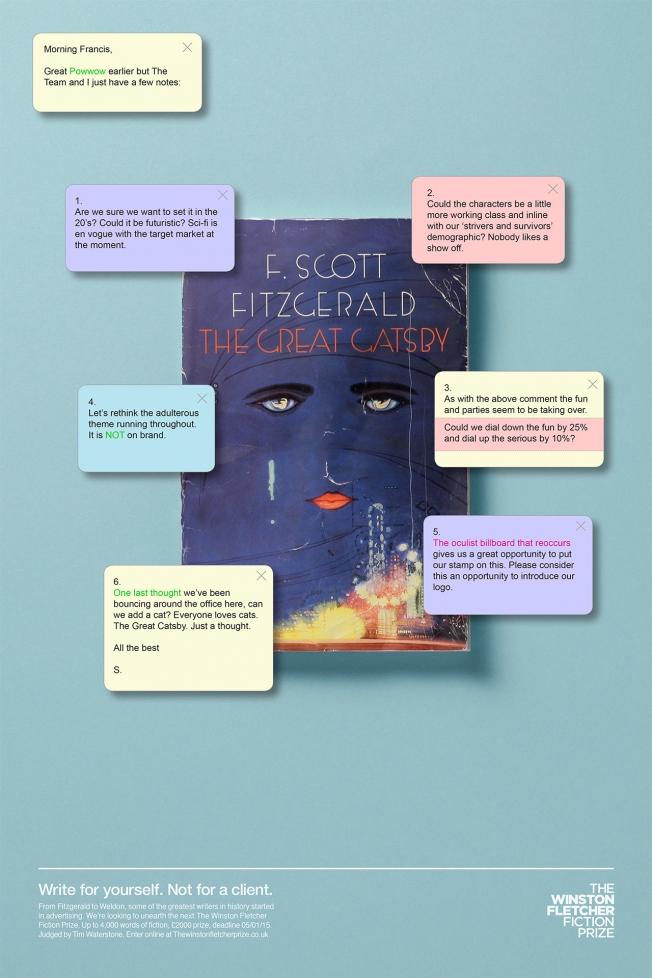 winston-fletcher-fiction-prize-the great gatsby