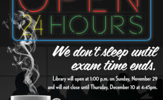 Boeken coffee shop bibliotheek Mississippi State University